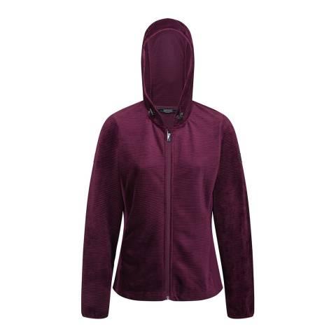 Regatta Prune Siddington Hooded Walking Fleece