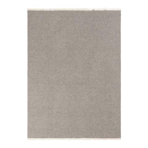 Lanerossi Felipe Throw 130 x 180cm, Grey