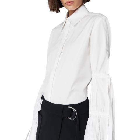 VICTORIA, VICTORIA BECKHAM White Tie Sleeve Shirt