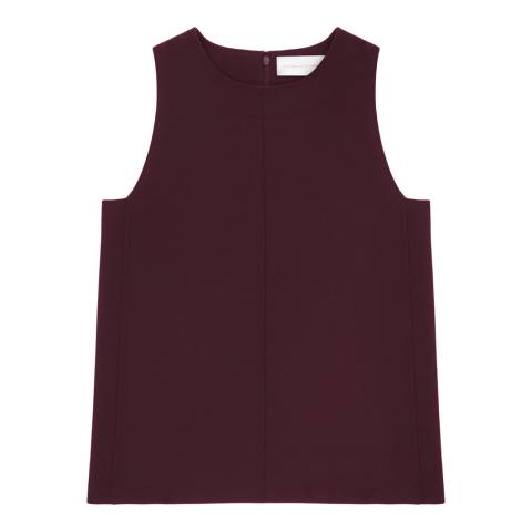 VICTORIA, VICTORIA BECKHAM Nightshade Sleeveless Shell Top