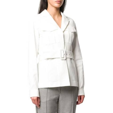 VICTORIA, VICTORIA BECKHAM White Safari Jacket