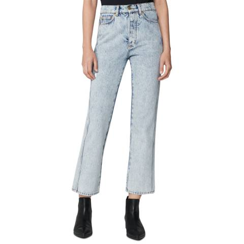VICTORIA, VICTORIA BECKHAM Silver Lake Super High Cali Jeans