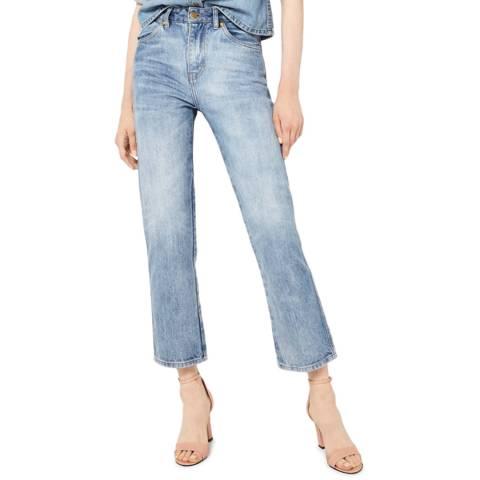 VICTORIA, VICTORIA BECKHAM Vintage Blue Arizona Cotton Jeans