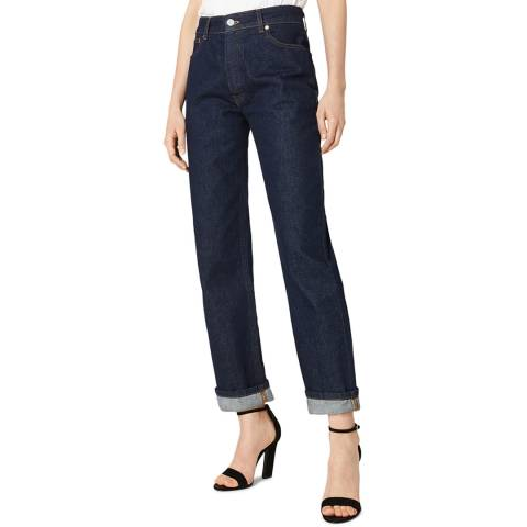 VICTORIA, VICTORIA BECKHAM Raw Arizona Stretch Jeans