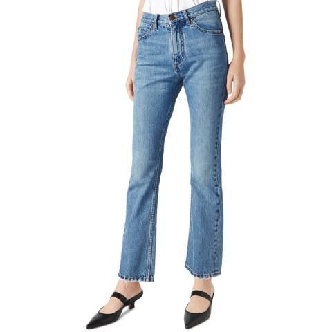 VICTORIA, VICTORIA BECKHAM Azure Blue Upstate Jeans