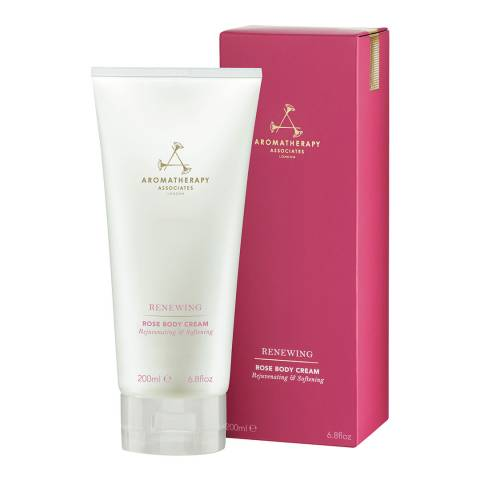 Aromatherapy Associates Renewing rose body cream 200ml