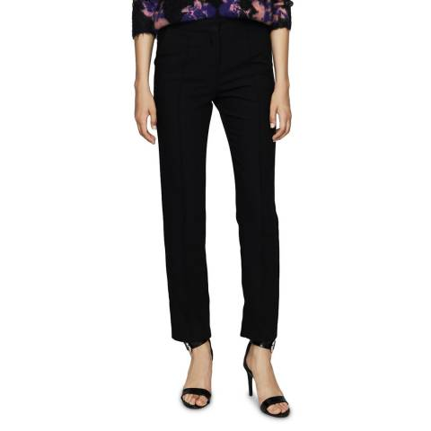 MAJE Black Fitted Trousers