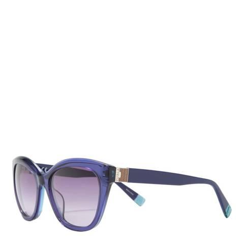 Furla Blue Round Sunglasses