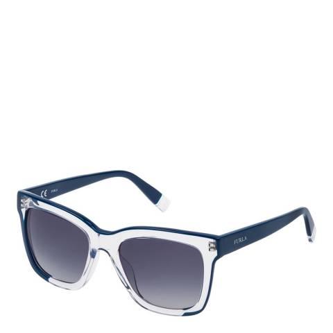 Furla Blue Square Sunglasses