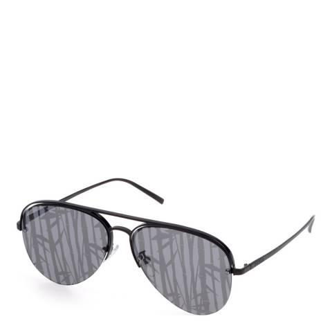Furla Black Aviator Sunglasses
