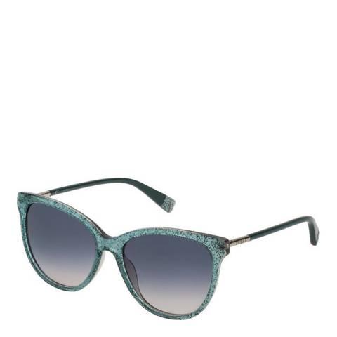 Furla Green Round Sunglasses