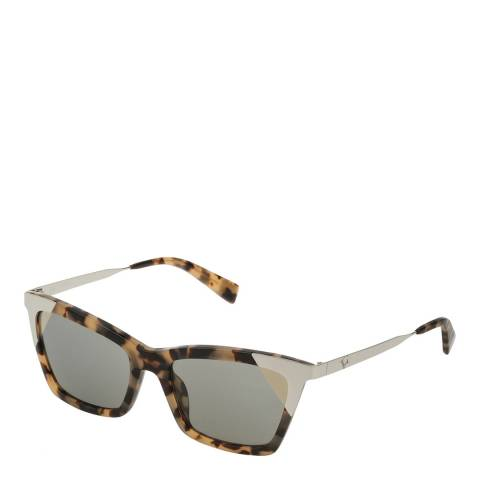 Furla Brown Rectangle Sunglasses