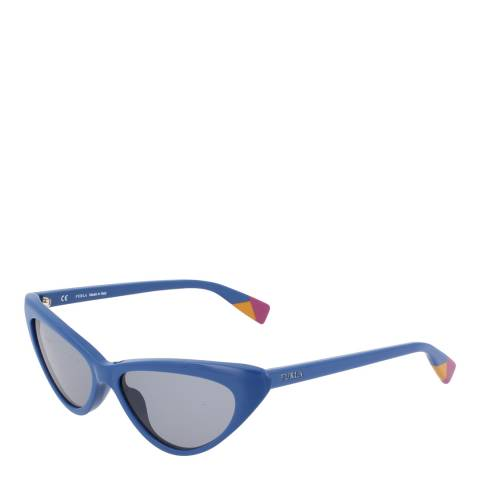 Furla Blue Cat Eye Sunglasses