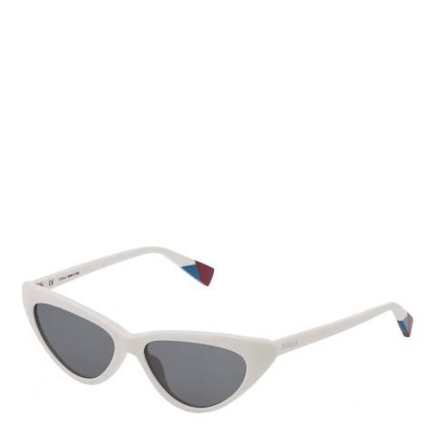 Furla Cream Cat Eye Sunglasses