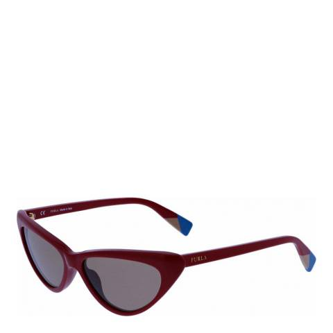 Furla Red Cat Eye Sunglasses