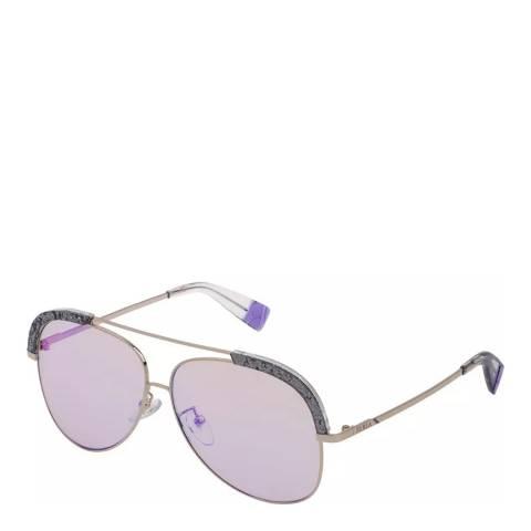 Furla Gold Aviator Sunglasses