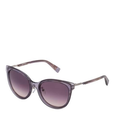 Furla Grey Round Sunglasses