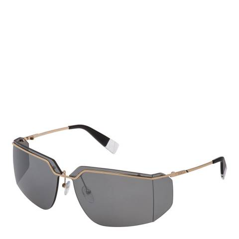 Furla Rose Gold Large Lens Sunglasses