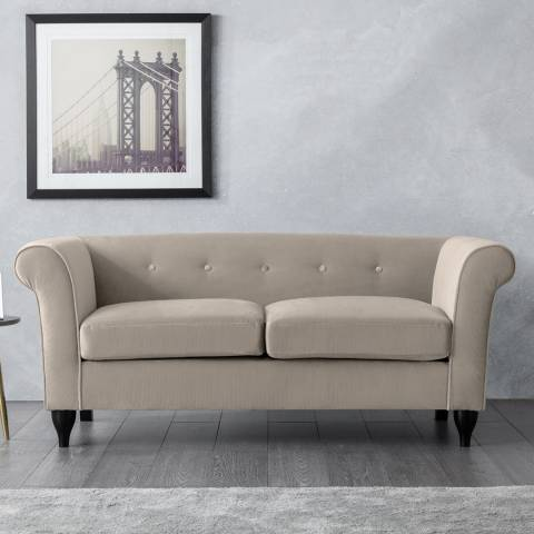 The Great Sofa Company Monty 2 Seater Sofa Putty