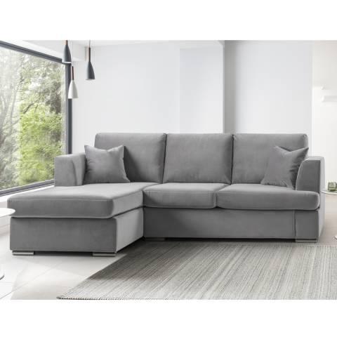 The Great Sofa Company Felice Corner Chaise Sofa Malta Grey