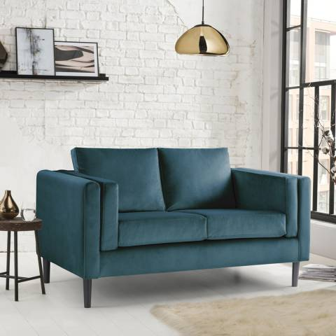 The Great Sofa Company Sandringham 2 Seater Sofa Malta Peacock