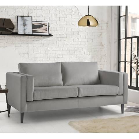 The Great Sofa Company Sandringham 3 Seater Sofa Malta Grey
