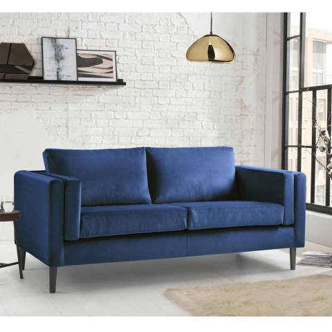 The Great Sofa Company Sandringham 3 Seater Sofa Malta Navy
