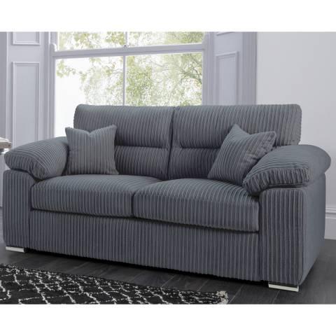 The Great Sofa Company Amalfi 2 Seater Sofa Metropolis Charcoal