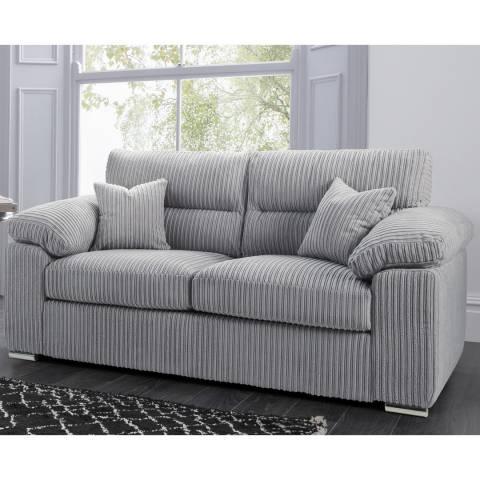 The Great Sofa Company Amalfi 2 Seater Sofa Metropolis Silver