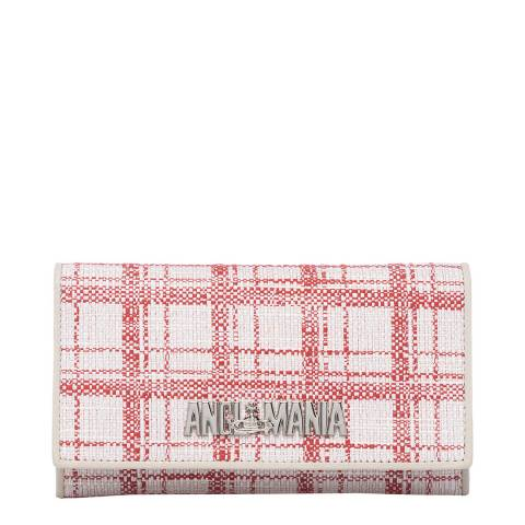 Vivienne Westwood Red Kelly Phone Case With Flap