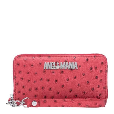 Vivienne Westwood Red Johanna Zip Round Phone Wallet