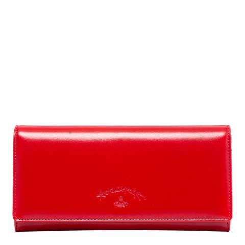 Vivienne Westwood Red Sarah Credit Card Wallet