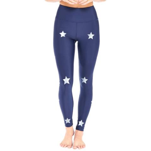 Electric Yoga Navy Star Light Star Bright Leggings