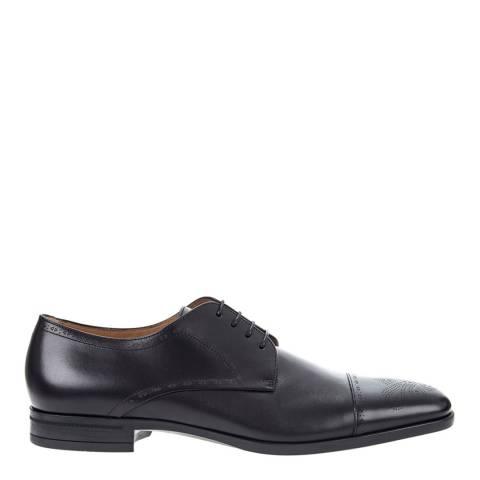 BOSS Navy Kensington Leather Formal Shoes