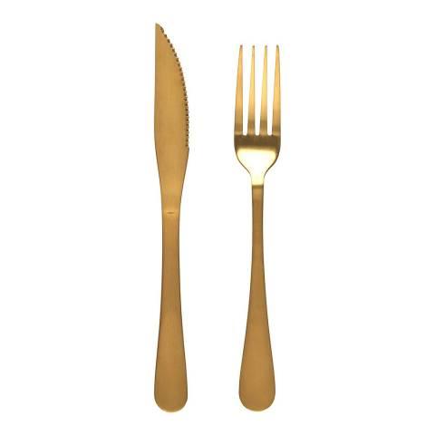 Salter 12 Piece Steak Knife and Fork Set