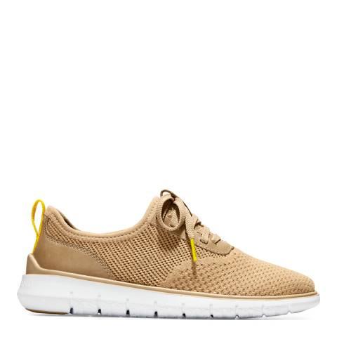 Cole Haan Beige Generation Zerogrand Sneakers