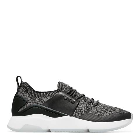 Cole Haan Black/White Zerogrand Stitchlite All Day Trainer