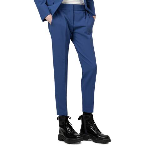 HUGO Blue Hevas Crop Stretch Trousers