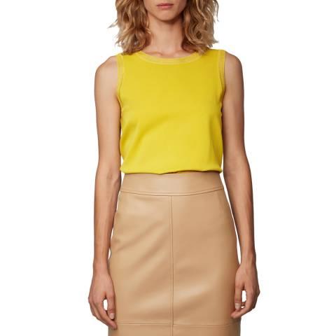 BOSS Yellow Istora Silk Blend Top