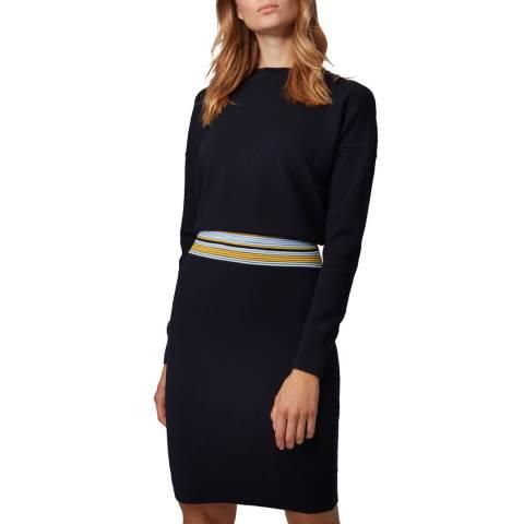 BOSS Navy Iwearit Knit Dress