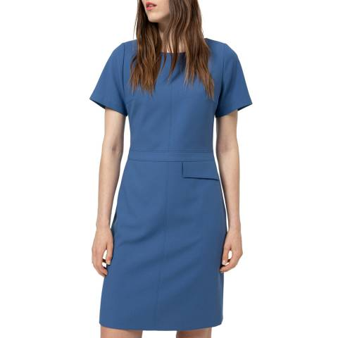 HUGO Blue Katara Tailored Dress