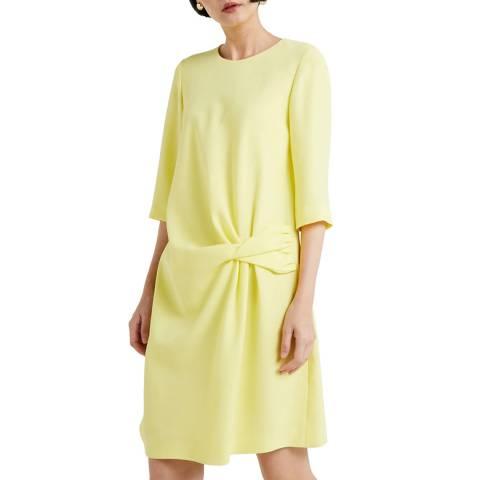 HUGO Yellow Kelile Knot Dress