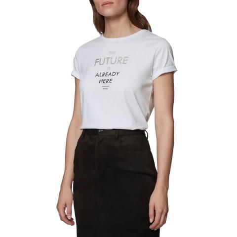 BOSS White Tecut Already Here T-Shirt