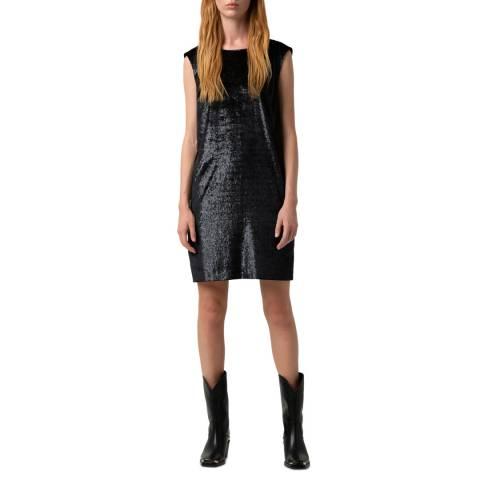 HUGO Black Sequin Komanu-1 Dress