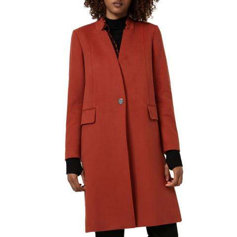HUGO Rust Mikala Coat