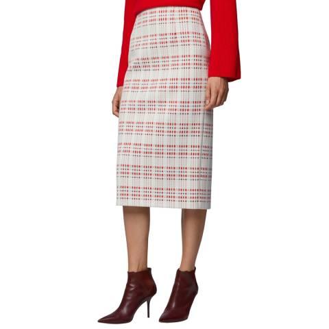 BOSS Pink Vecka Pencil Skirt