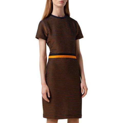HUGO Brown Nifana Tape Dress
