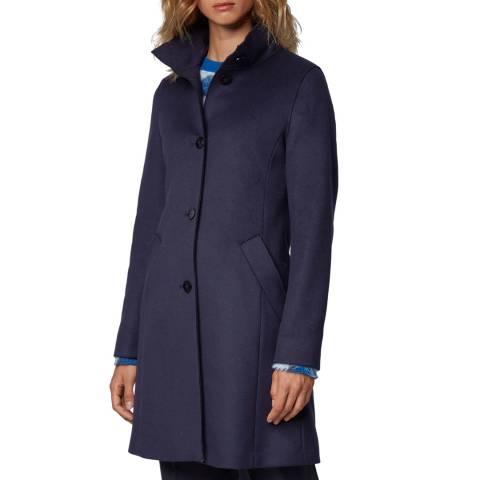 BOSS Blue Ojulie Cashmere/Wool Blend Coat