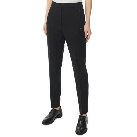 HUGO Black Hanette Straight Stretch Trousers