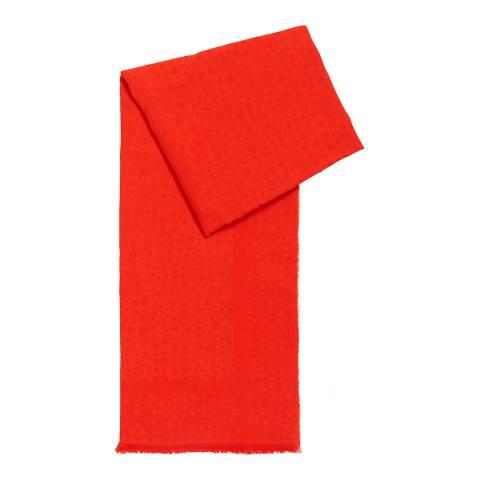 BOSS Bright Red Labida Scarf